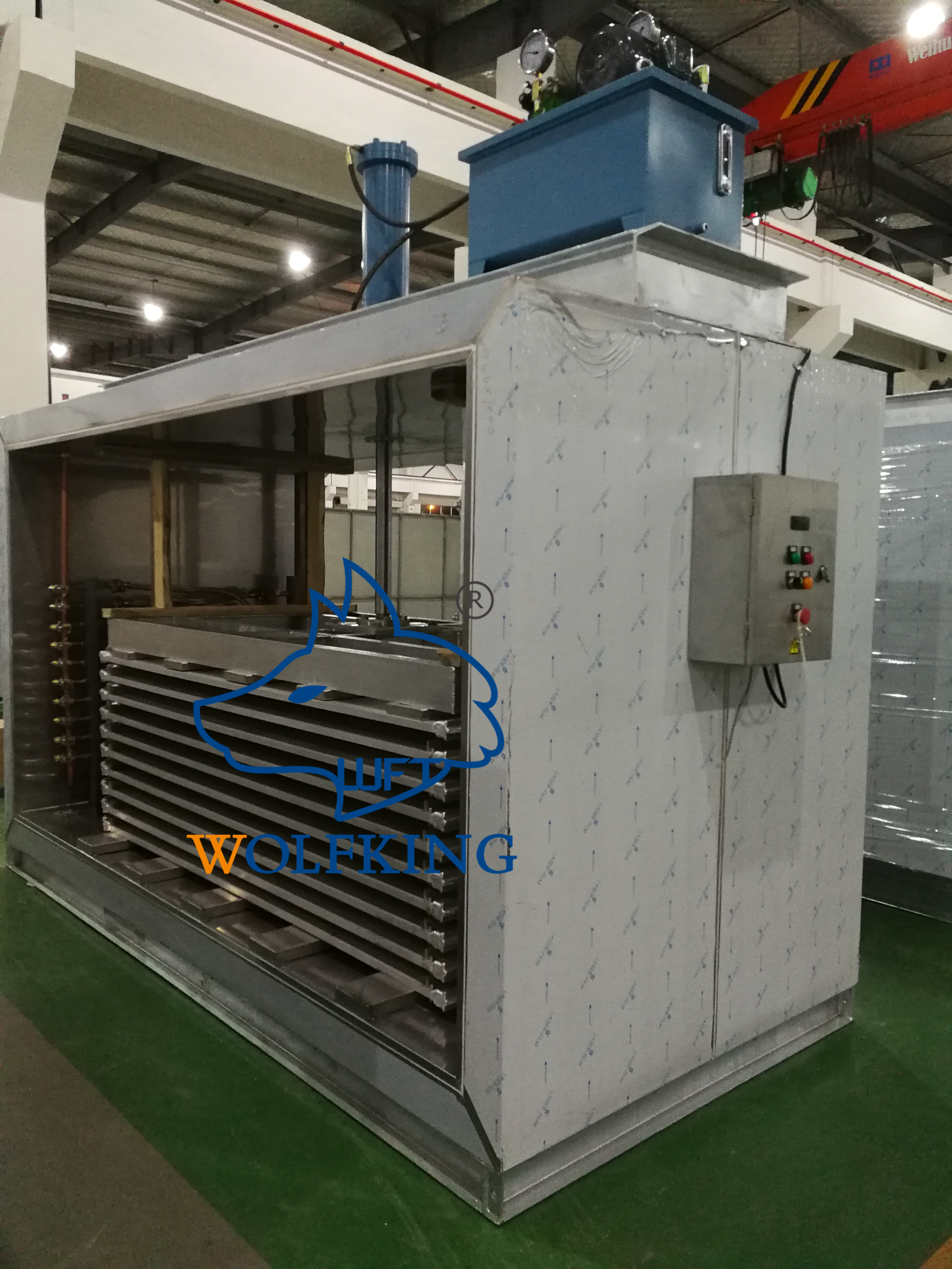 Wide Use High Quality Horizontal Plate Freezer