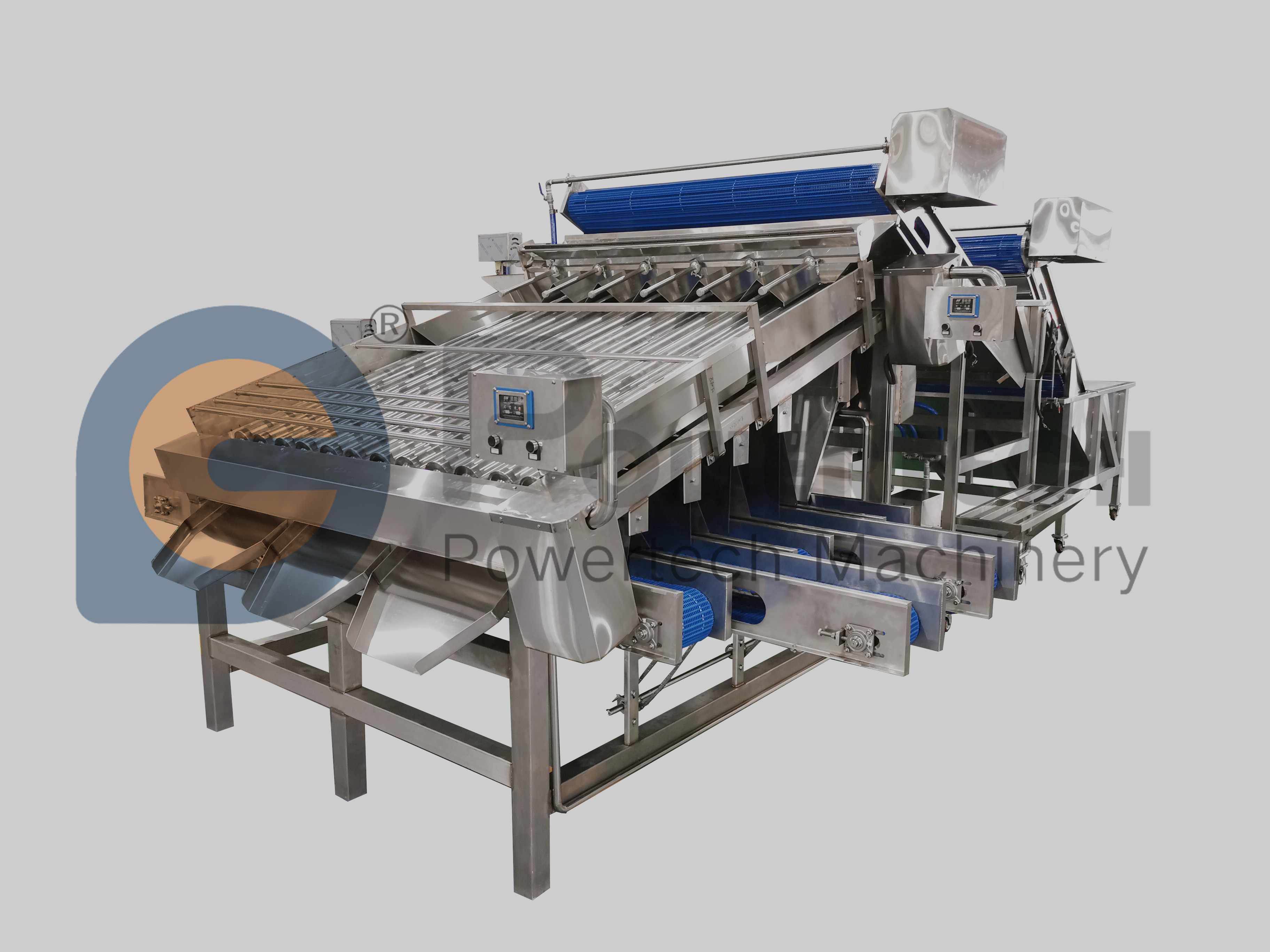 High Sorting Accuracy Automatic Shrimp Grading Machine